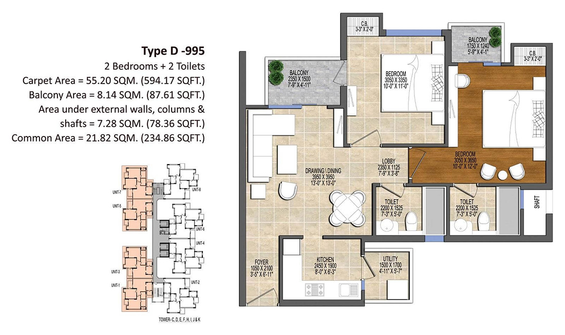 Ace Divino Floor Plan