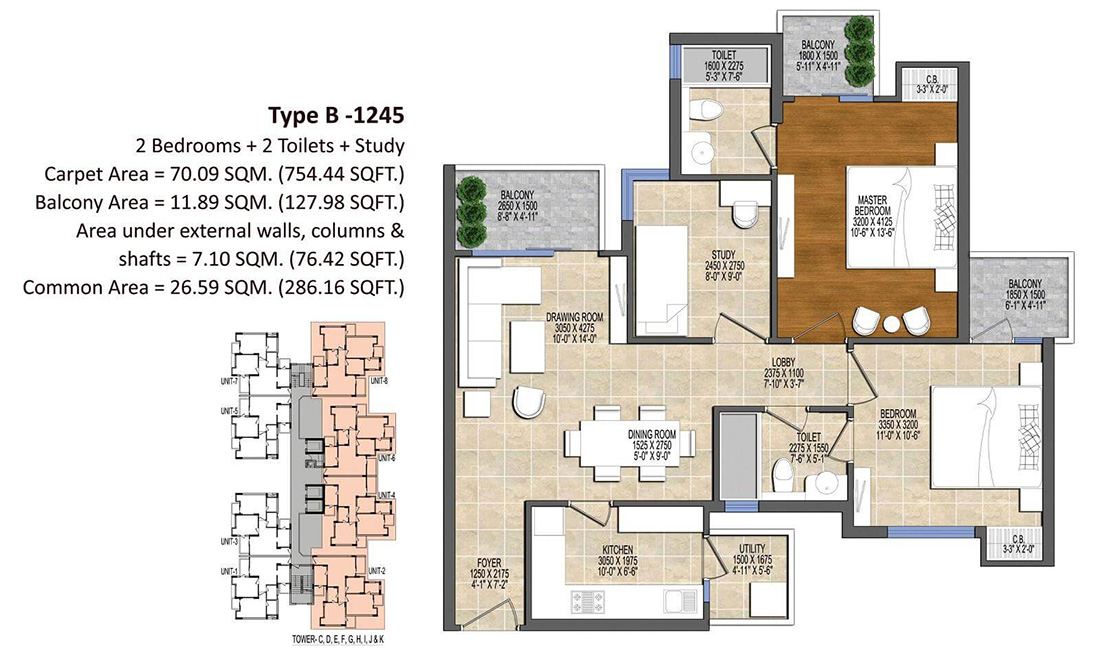 Ace Divino Noida Floor Plan